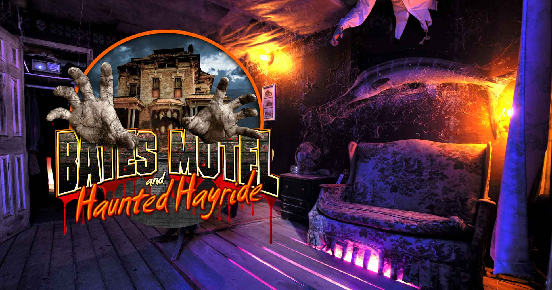 Haunted Hayride and Bates Motel Haunted House Pennsylvania